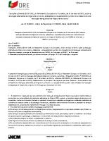 Regime Jurídico que estabelece o enquadramento jurídico dos mecanismos de resolução extrajudicial de litígios de consumo