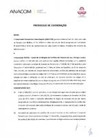 Protocolo de Cooperação – ANACOM